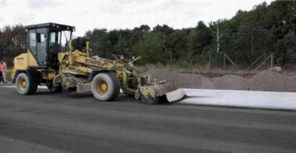 Удаление мокрым способом поверхностного раствора бетона